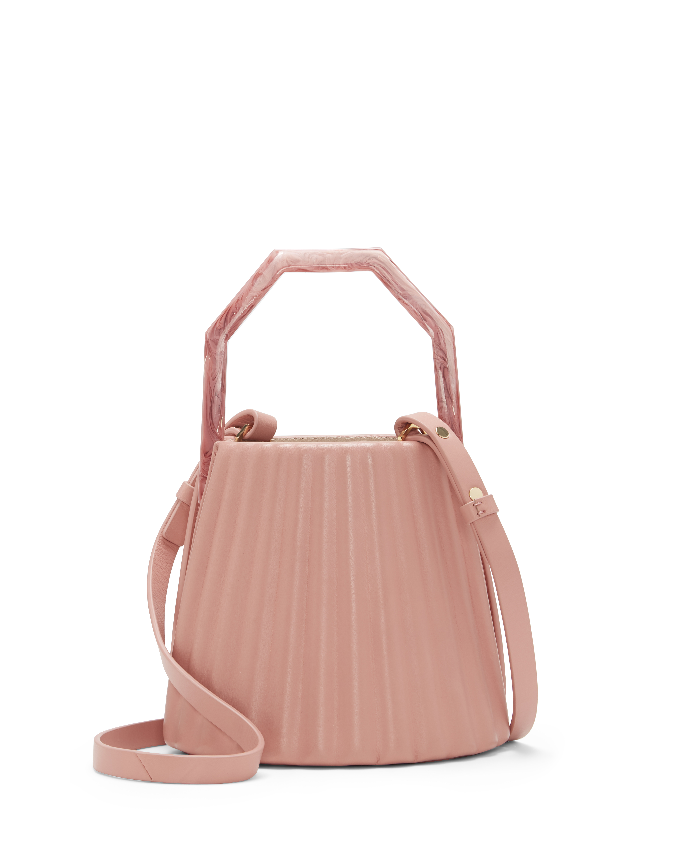 Louise Et Cie Women's Alez Small Bucket Bag Baby Nappa Fuchsia