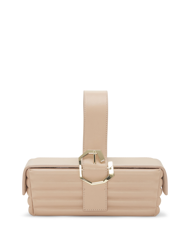 Louise Et Cie Women's Alez Top Handle Bag Baby Nappa Light Brown